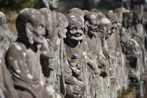 川越 喜多院の五百羅漢